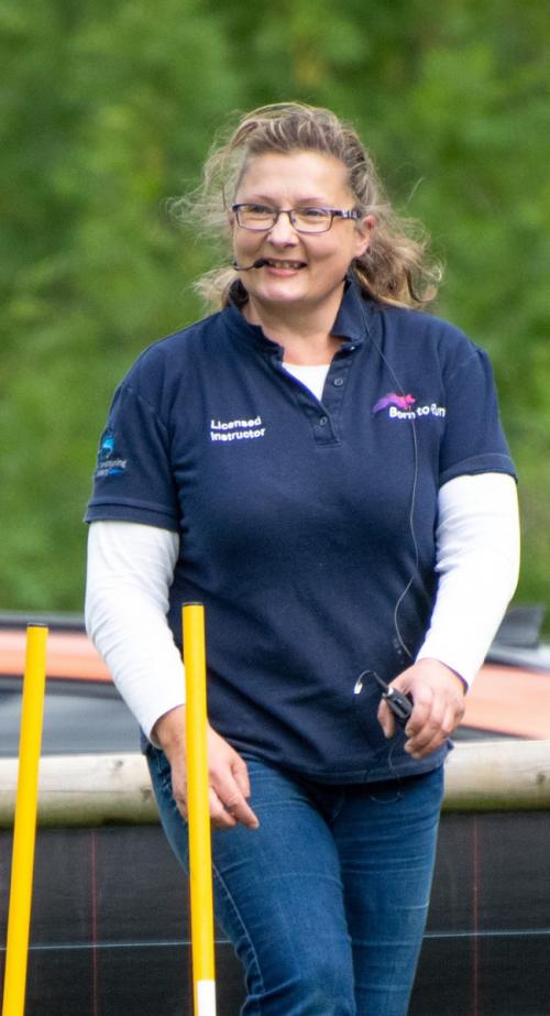 Angela Day Born to Run dog muscle expertin Suffolk